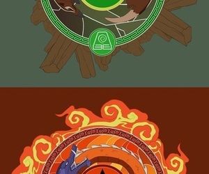 avatar, avatar aang, and toph image