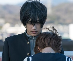 hug, japanese, and movie image