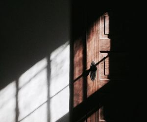 door, aesthetic, and light image