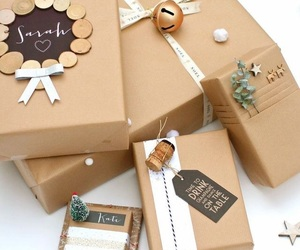 gift, wrapping, and present image
