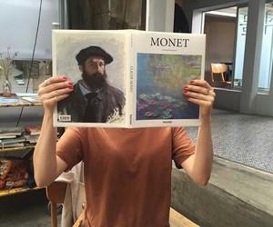 art, monet, and theme image