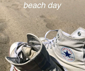 beach day, california, and converse image