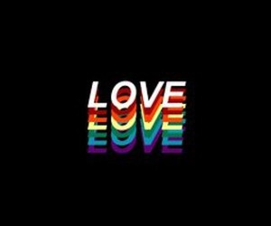 header, love is love, and twitter header image