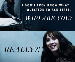 alex drake, pll, and spencer hastings image