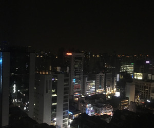 city, grunge, and night image