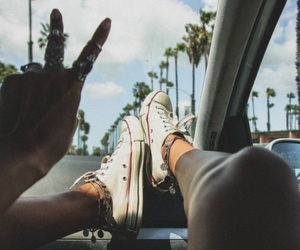 converse, summer, and tumblr image