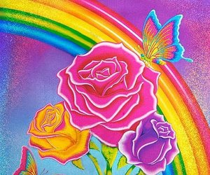 lisa frank and rainbow image