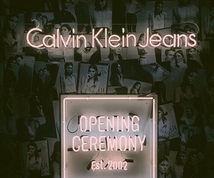 Calvin Klein, kendall jenner, and jeans image
