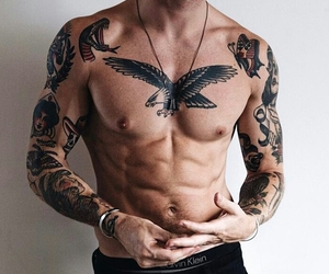 abs, male models, and models image