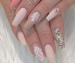 nail art, nailart, and unhas image