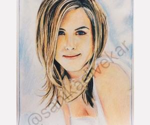 art, drawing, and Jennifer image