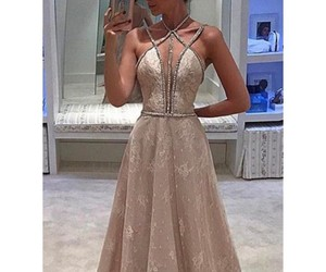evening dresses, lace, and prom dresses image