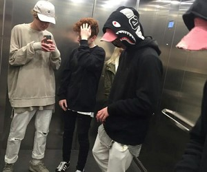 boy, tumblr, and friends image