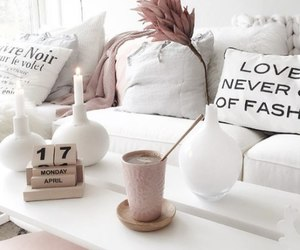apartment, decorations, and furniture image