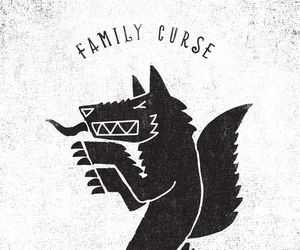 curse, family, and monster image