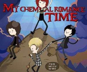 my chemical romance, mcr, and adventure time image