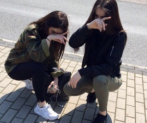 fashion, style, and bff image