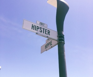 blue, hippie, and hipster image