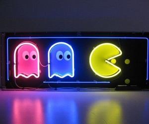 neon, beautiful, and light image