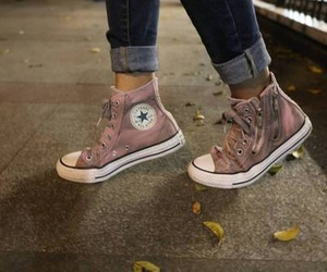 converse, girly, and photography image