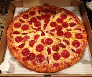 pizza, food, and yummy image
