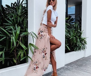 boho, women skirt 2017, and summer image