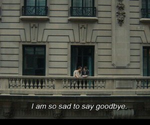 sad, quotes, and goodbye image