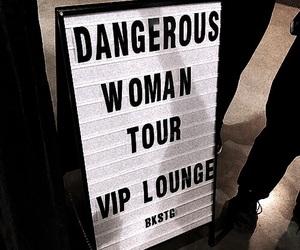 ariana grande and dangerous woman tour image