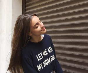girl, style, and beautiful image