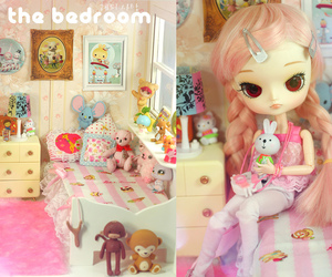 dollhouse, kawaii, and pullip image