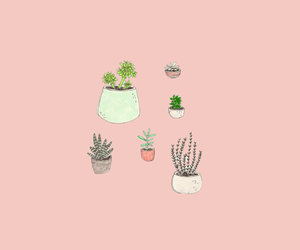 pastel, plants, and wallpapers image