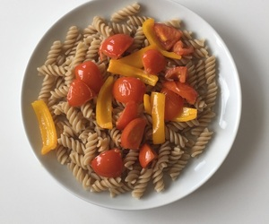 breakfast, food, and pasta image