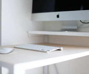 white, apple, and computer image