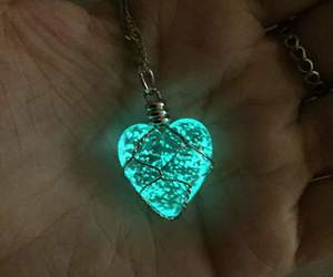 heart and blue image