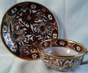 etsy, tea cup and saucer, and rhodes greece image