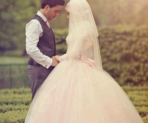 wedding, muslim, and love image