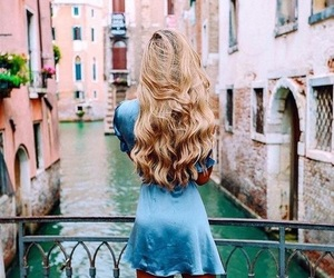 beauty, hair, and holiday image