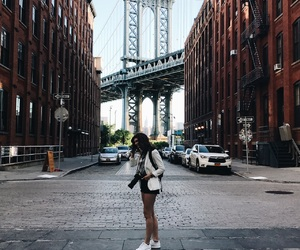 bridge, Brooklyn, and dumbo image