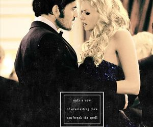 captain swan, once upon a time, and emma swan image