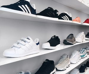 adidas, naked, and sneaks image