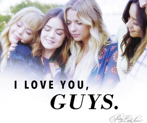 pll, lucy hale, and pretty little liars image