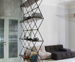 design, interior, and bookcase image