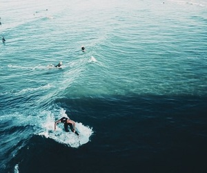 sea, surf, and summer image