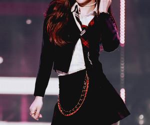kpop, black pink, and rose image