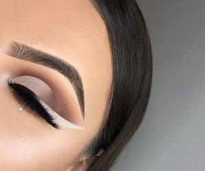 makeup, girl, and luxury image