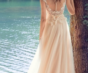 wedding dress and wedding pics image