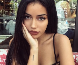 brunette, girl, and hispanic image