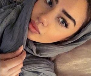 aaliyah, beautiful, and eyes image