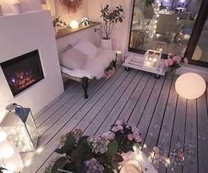 home, cozy, and lights image