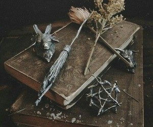 witch and herbs image